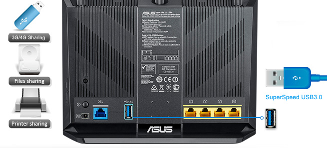 upgrade asus router firmware through usb