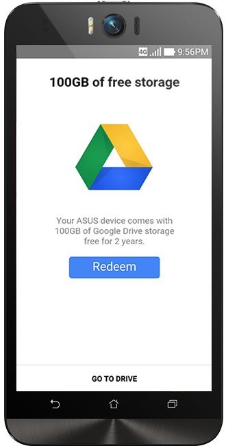 Enjoy 100GB of FREE Google Drive Storage