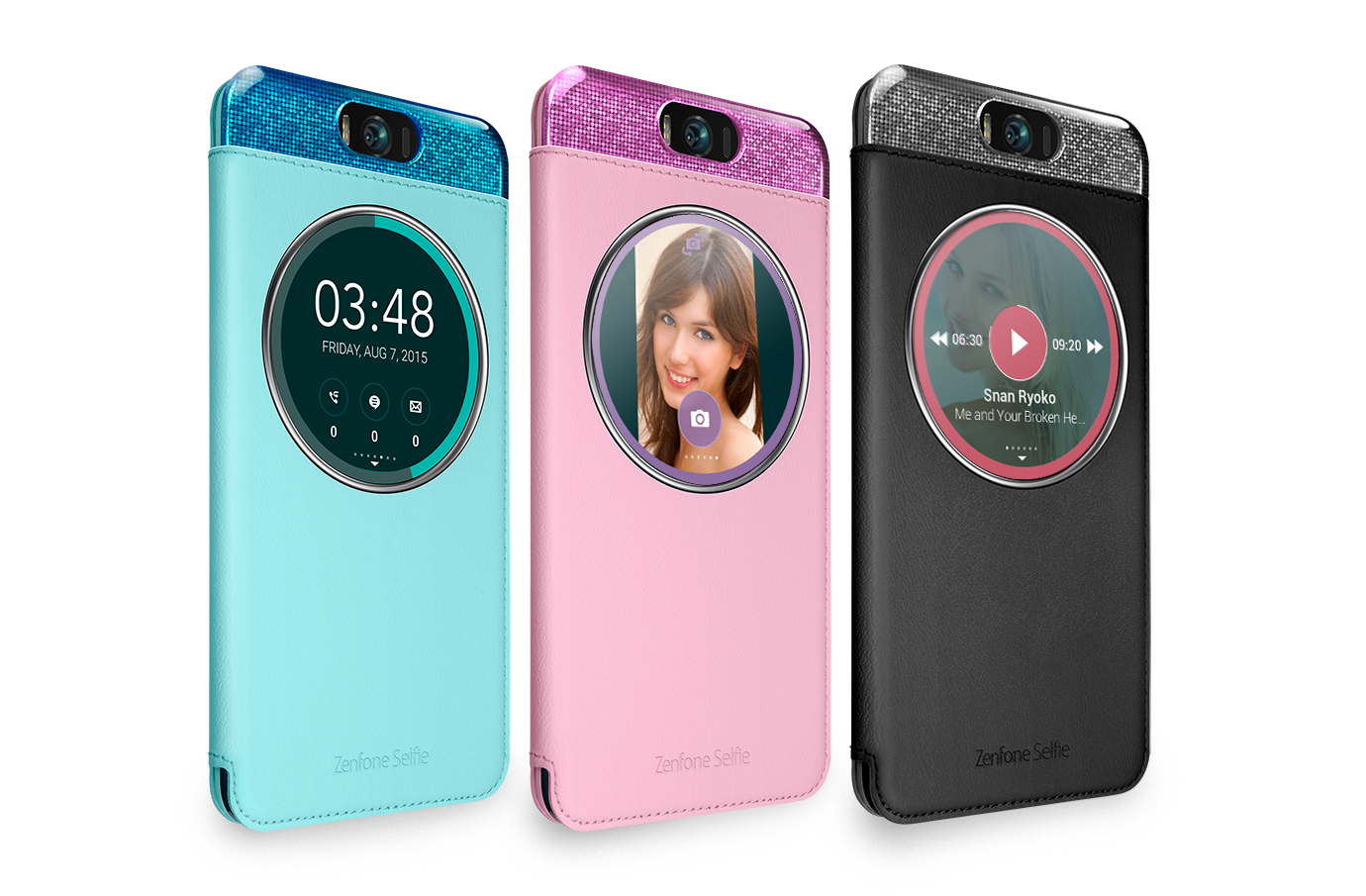 ZenFone Selfie MyView Cover Premium Protection In Intuitive Fashion