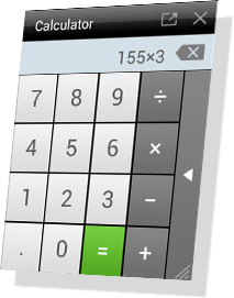 Floating Apps - Calculator