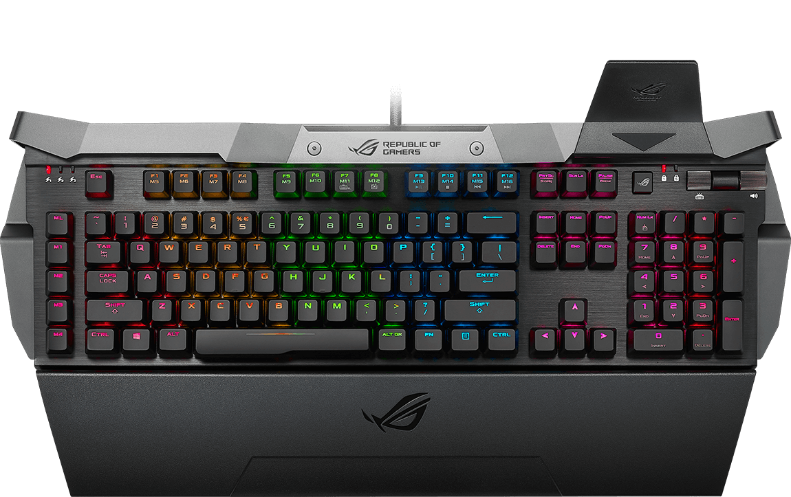 7215537a83a ROG Horus RGB takes its name from a deity — Horus — who is known as the god  of war and hunting. Often depicted as a falcon in ancient Egyptian  hieroglyphs, ...