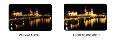 ASUS Smart Contrast Ratio for lifelike visuals