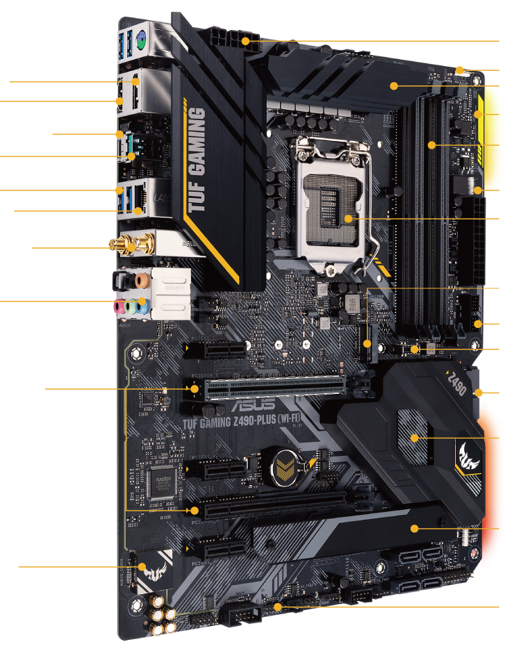 TUF Gaming Z490-Plus (WiFi)