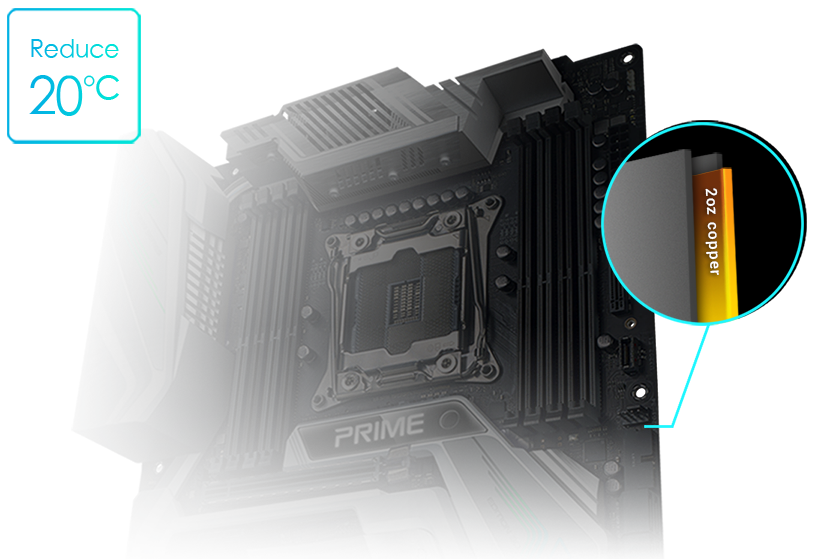 Prime X299 Edition 30 | Motherboards | ASUS Global