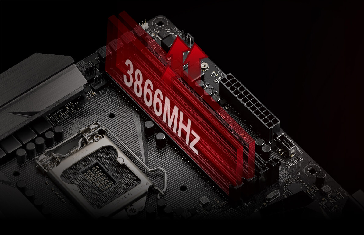 Rog Strix Z270e Gaming Republic Of Gamers Asus Usa 8 Pin Temperature Controller Wiring Diagram With Innovative Equidistant Memory Channels T Topology Delivers Balanced Control And Powerful Overclocking Compatibility