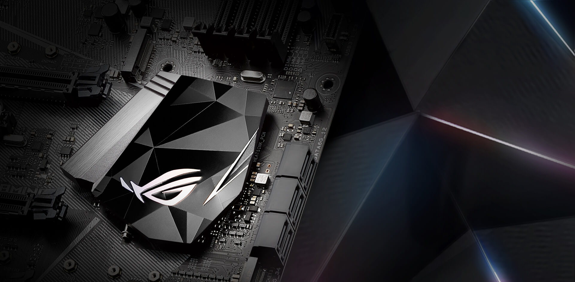 Rog Strix Z270e Gaming Republic Of Gamers Asus Usa Correspondence The Pins On Hdmi To Dvid Cable Badge Reflective Polychrome Finish Stands Out Against Diamond Cut Metal Nameplate