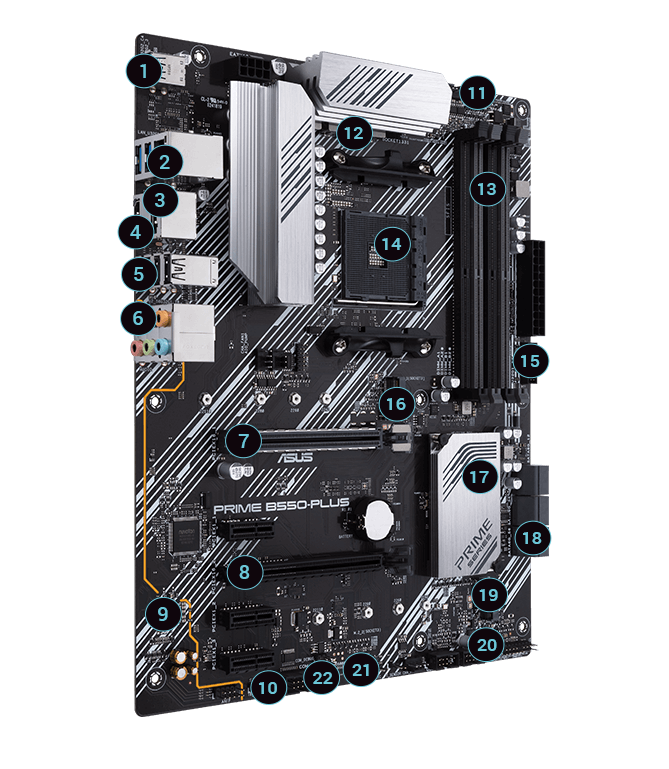 Prime B550 Plus Motherboards Asus Usa
