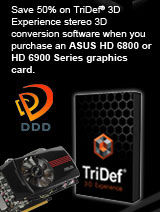 TriDef 3D Experience