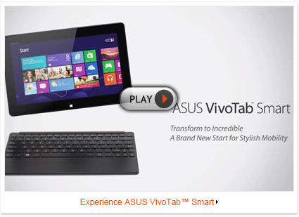 ASUS VivoTab Smart | Tablets | ASUS Global