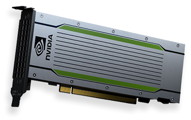 Підтримка прискорювачів NVIDIAT4