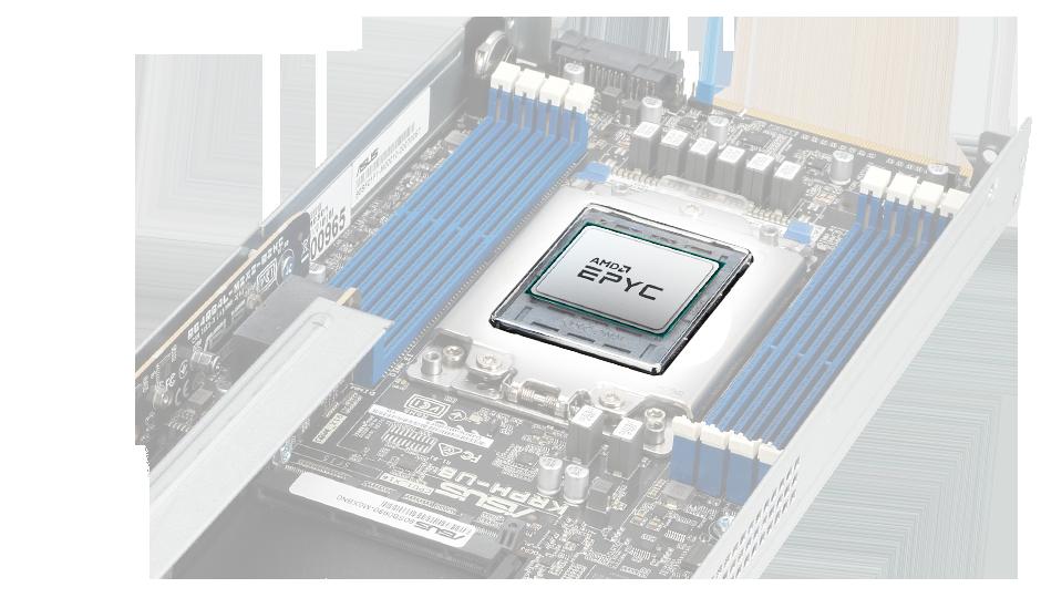 Prosesor soket tunggal AMD EPYC per node
