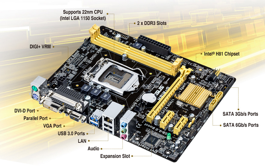 Asus H81M-E Intel Chipset Drivers Download