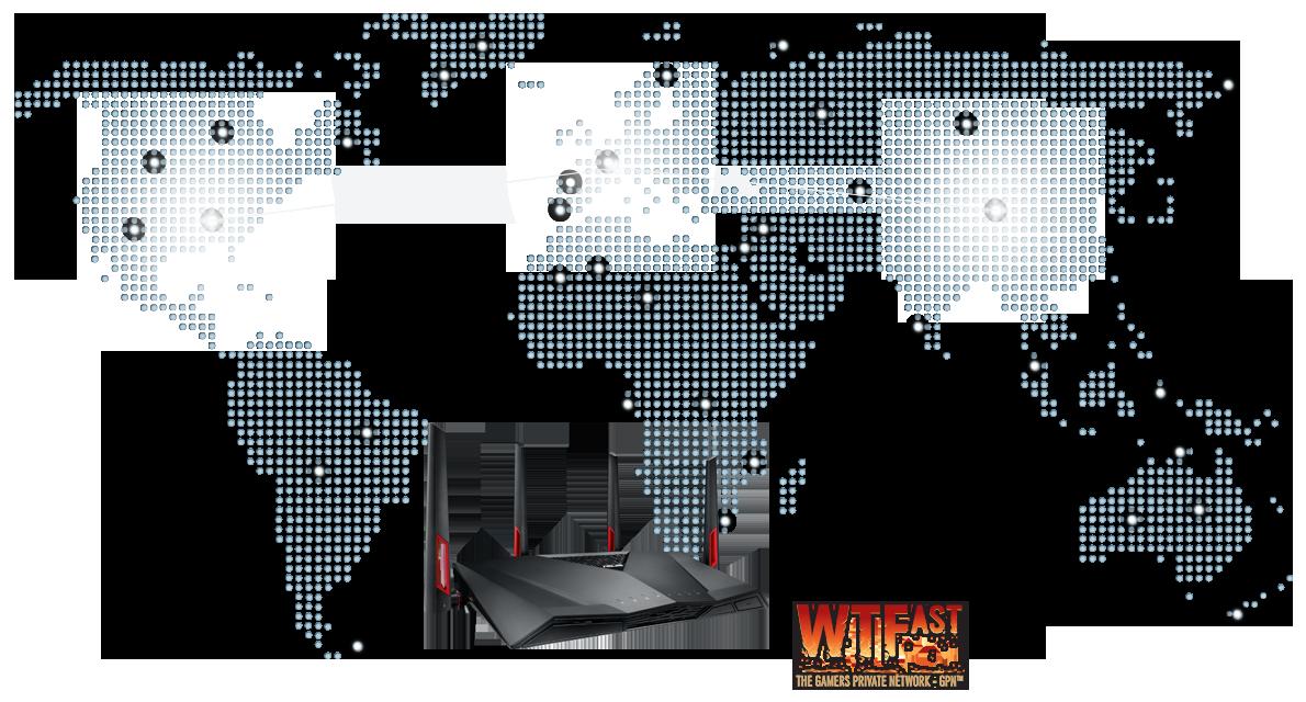 Optimise la connexion Internet et la vitesse pour les jeux en ligne