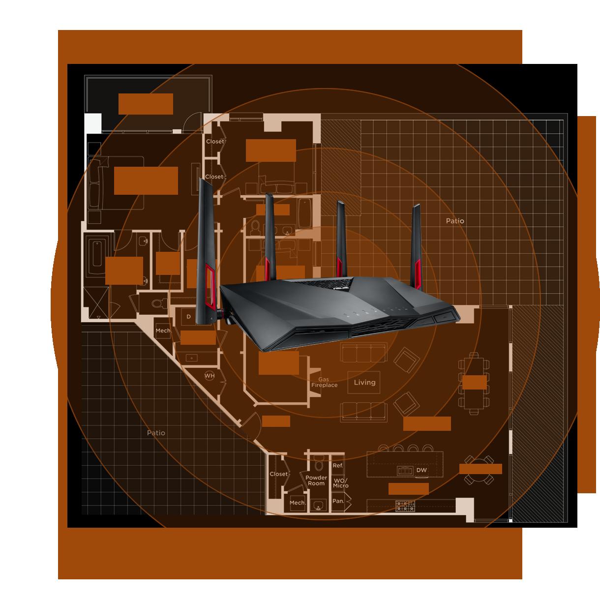 Rt Ac88u Networking Asus Usa Wireless Home Network Design Diagram