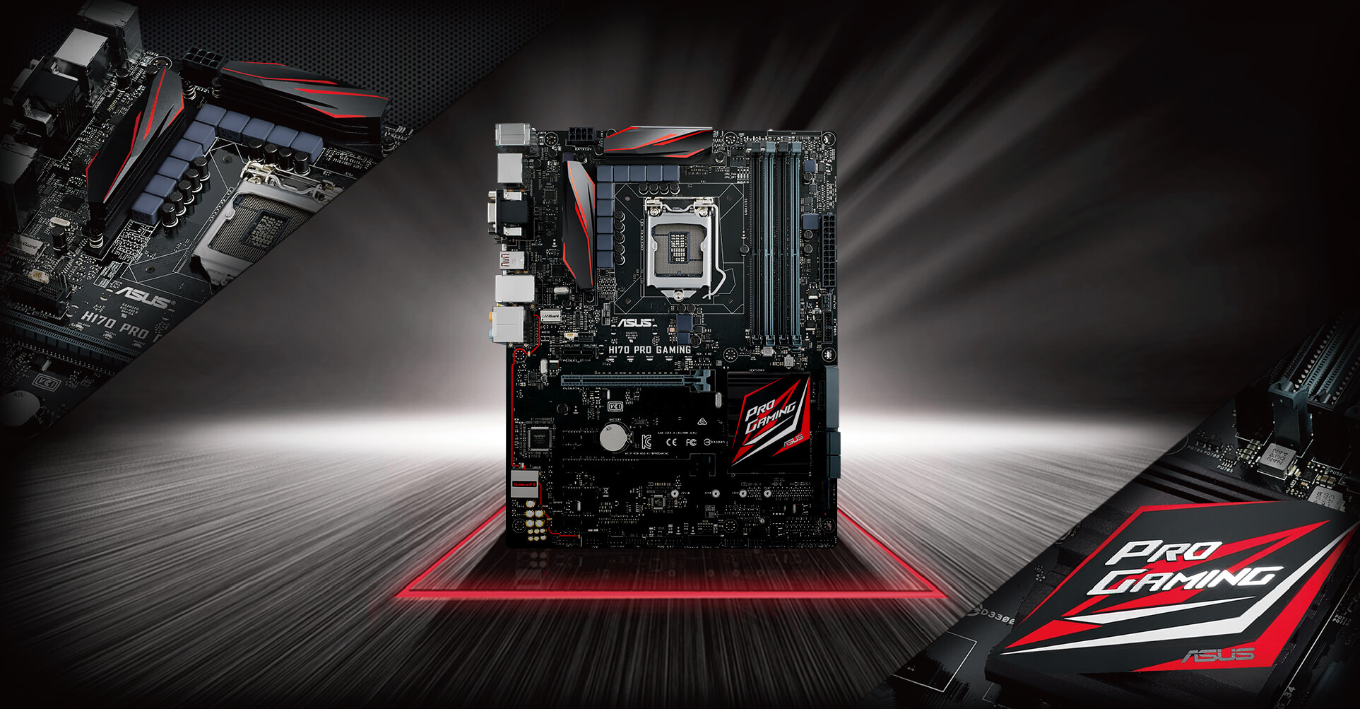 H170 Pro Gaming Motherboards Asus Usa