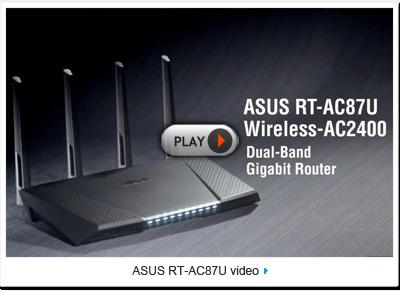 Знакомство с ASUS RT-AC87U (видео)