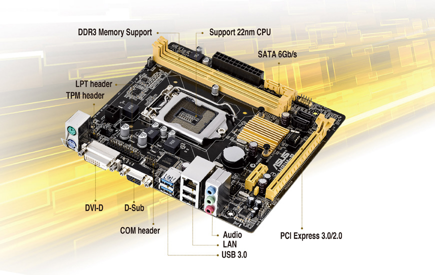 ASUS H81M-P Intel Graphics Vista
