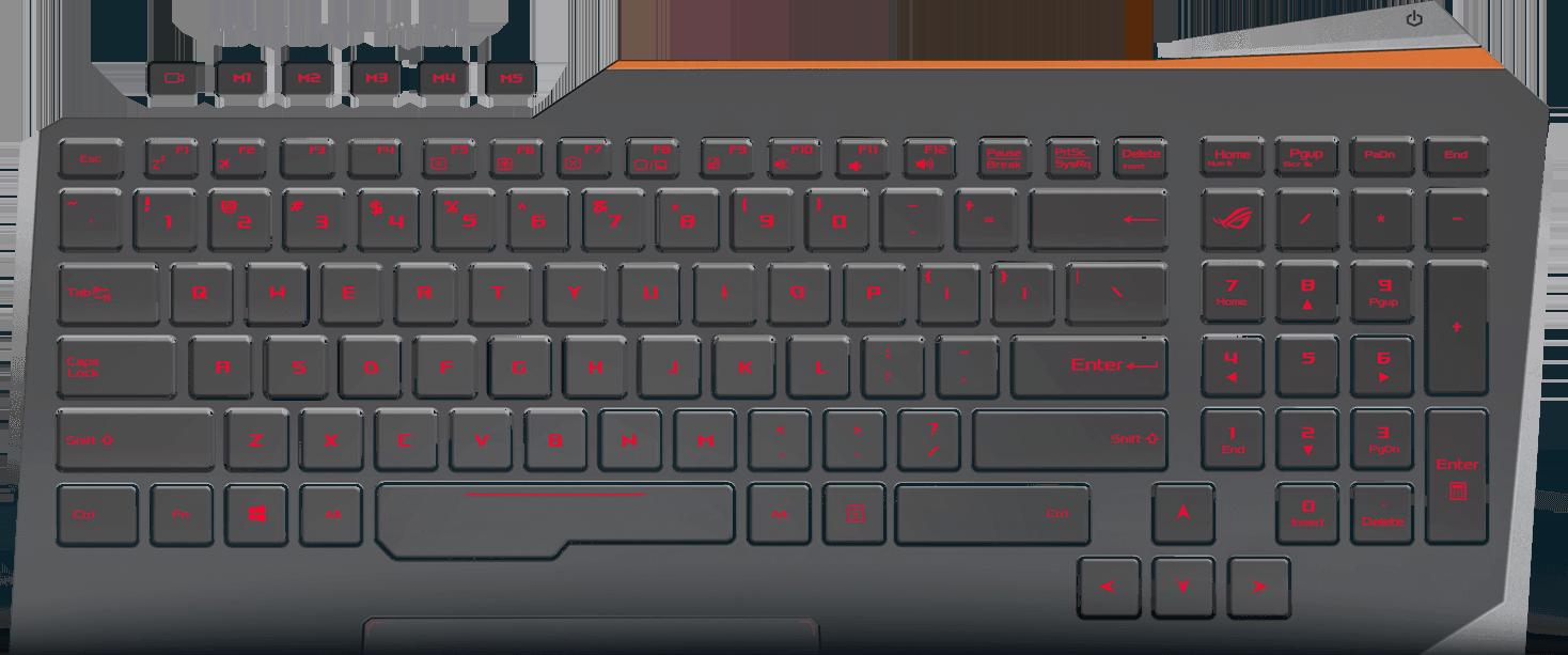 Keyboard for ASUS G752 G752V G752VL G752VT G752VS G752VY US English Backlit