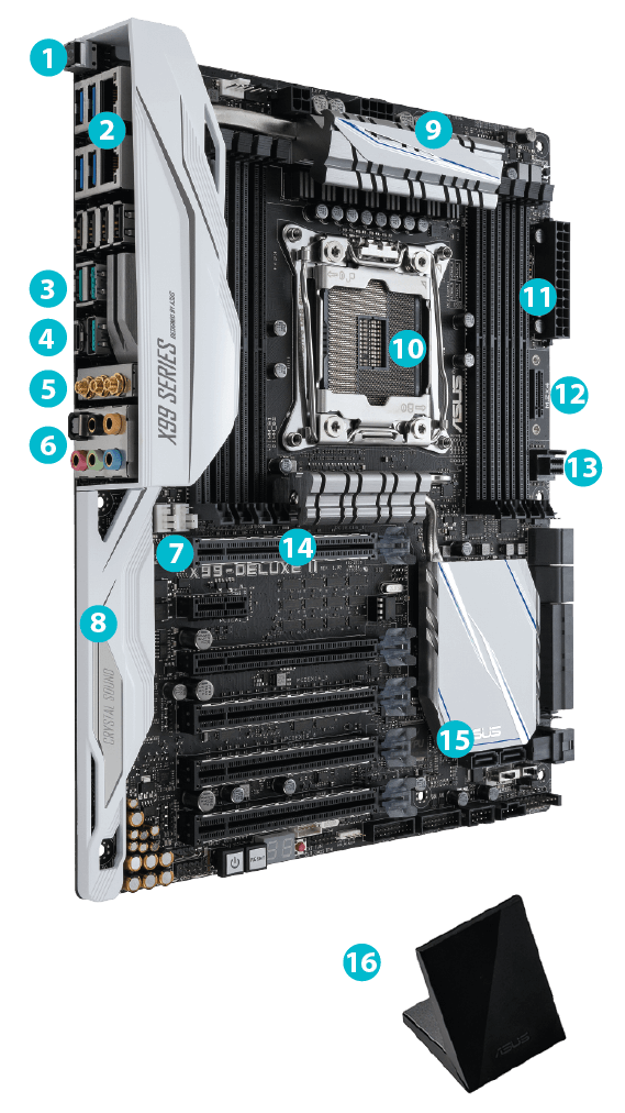 X99-DELUXE II | Motherboards | ASUS USA