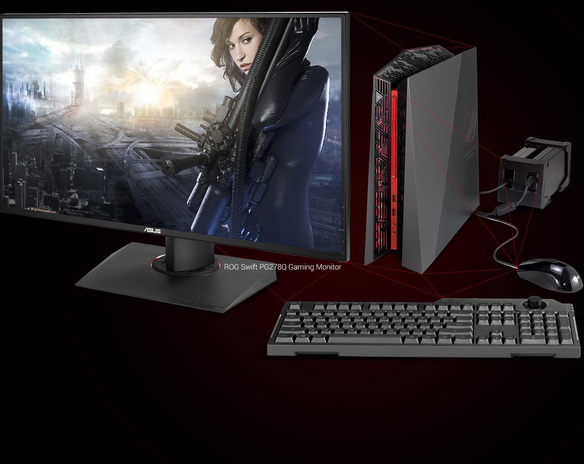 Rog G20aj Republic Of Gamers Asus Usa 1 Set Komputer