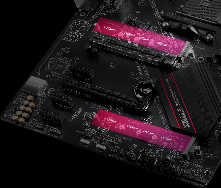 Dual PCIE 4.0 M.2