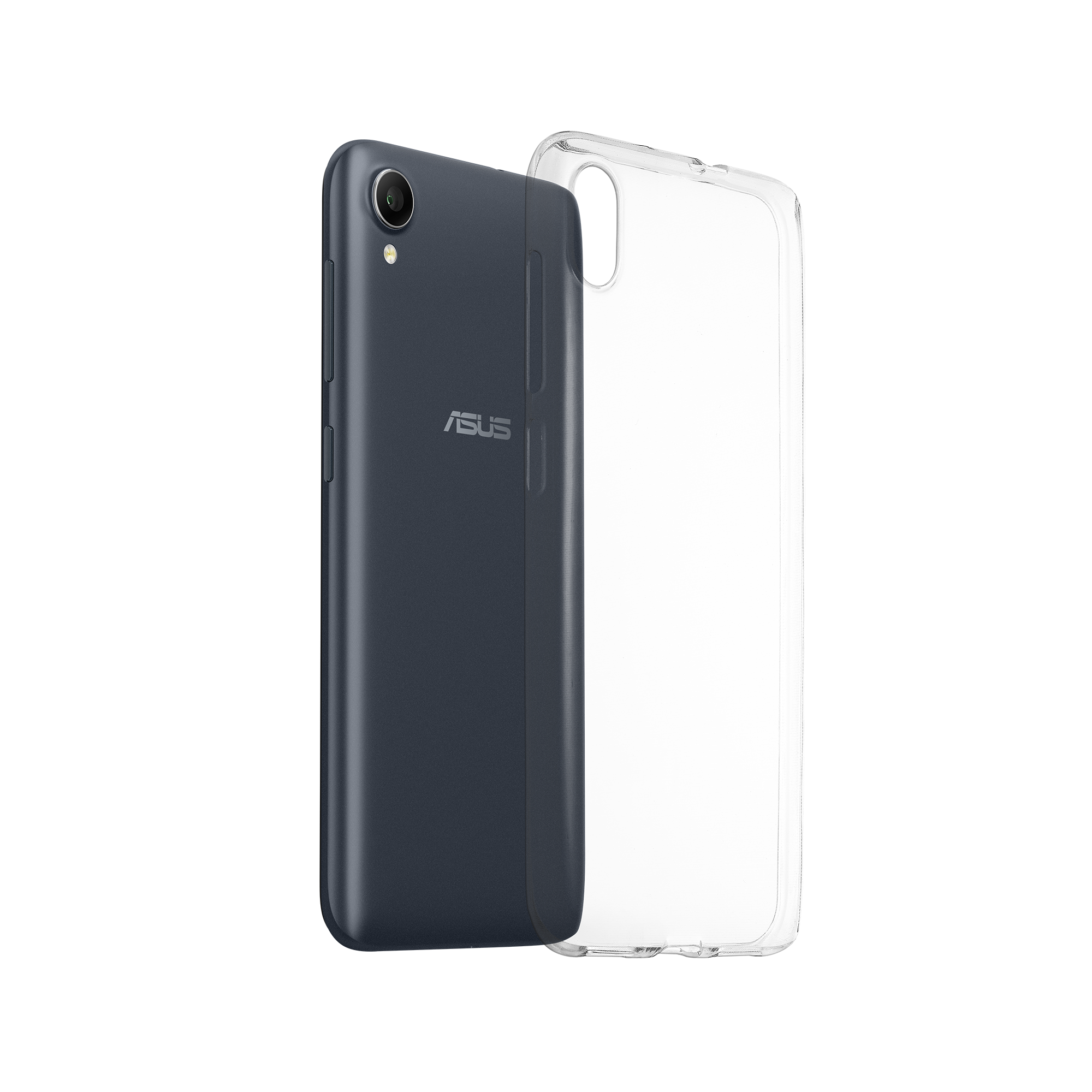 on sale a90fe e26e4 ZenFone Live (L1) Clear Soft Bumper (ZA550KL) | Phone Accessories ...