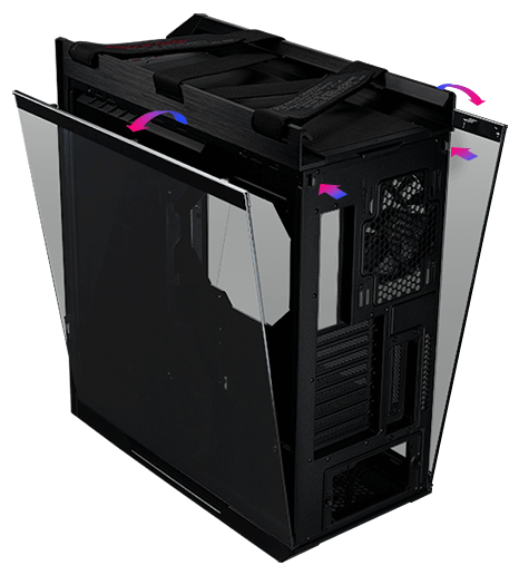 ROG Strix Helios GX601 - Mid-Tower Gaming Case 4