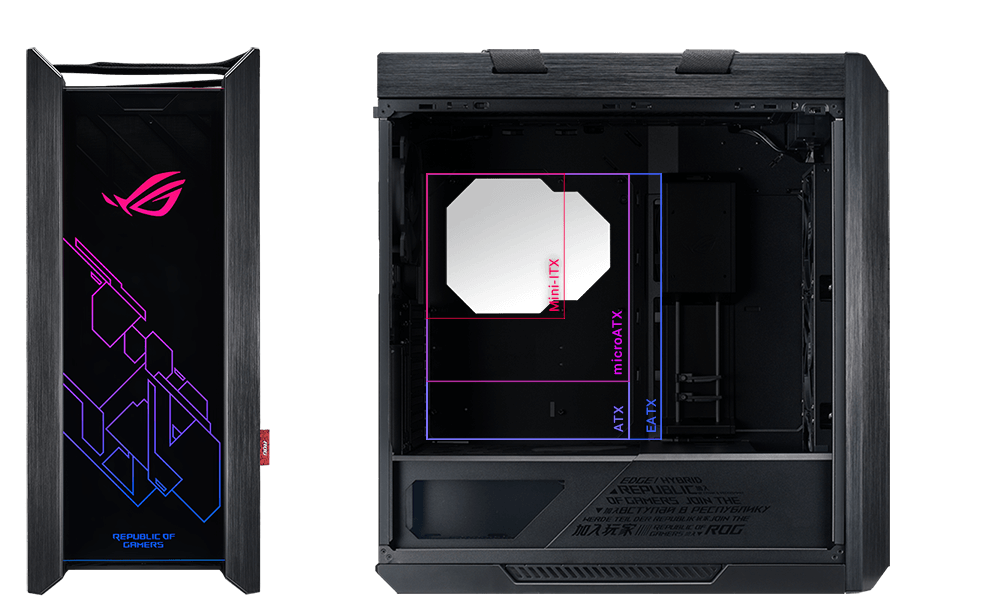 ROG Strix Helios GX601 - Mid-Tower Gaming Case 6
