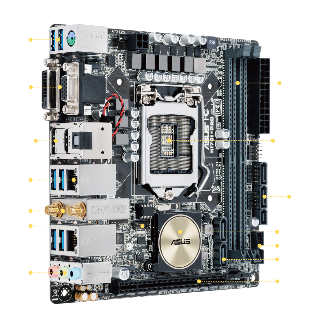 ASUS H170I-PRO Drivers for Windows 10
