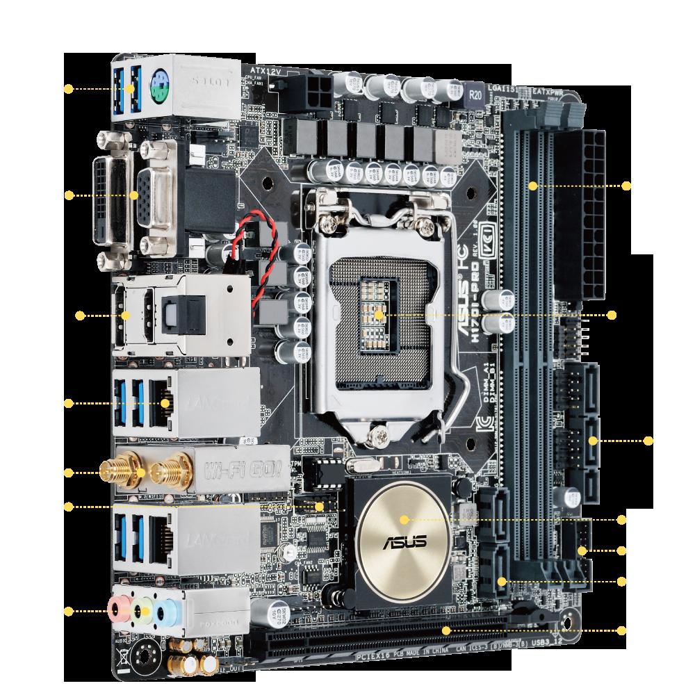 ASUS H170I-PLUS D3 Intel WLAN Drivers for Mac