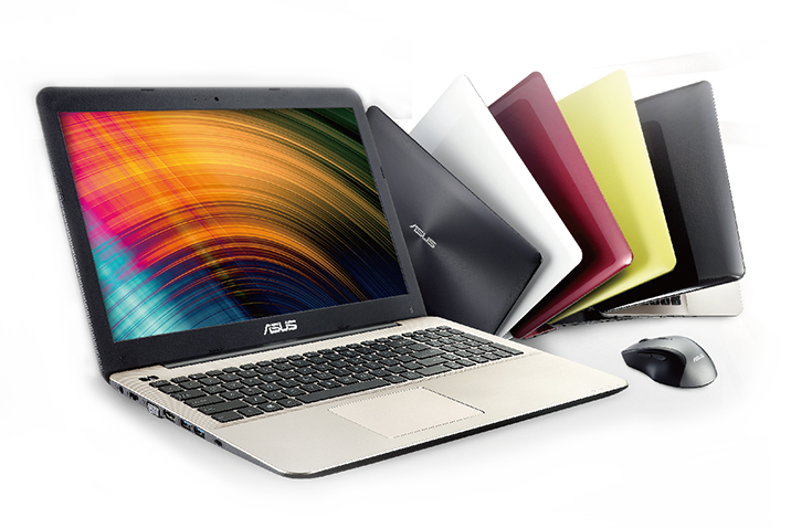 Asus X serija - Klasični dizajn, žive boje