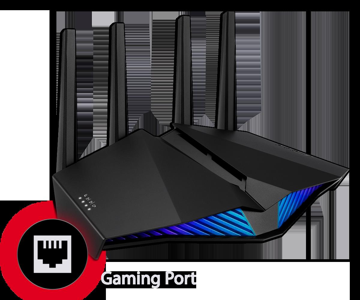 Asus RT-AX82U AX5400 Dual Band WiFi 6 Gaming Router 19