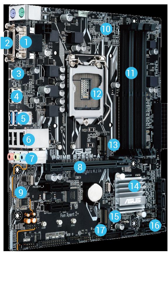 ASUS E810 Intel LAN New