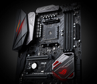 ROG CROSSHAIR VI HERO | Motherboards | ASUS USA