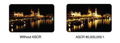 Relação de Contraste Inteligente ASUS para Efeitos Visuais Realistas