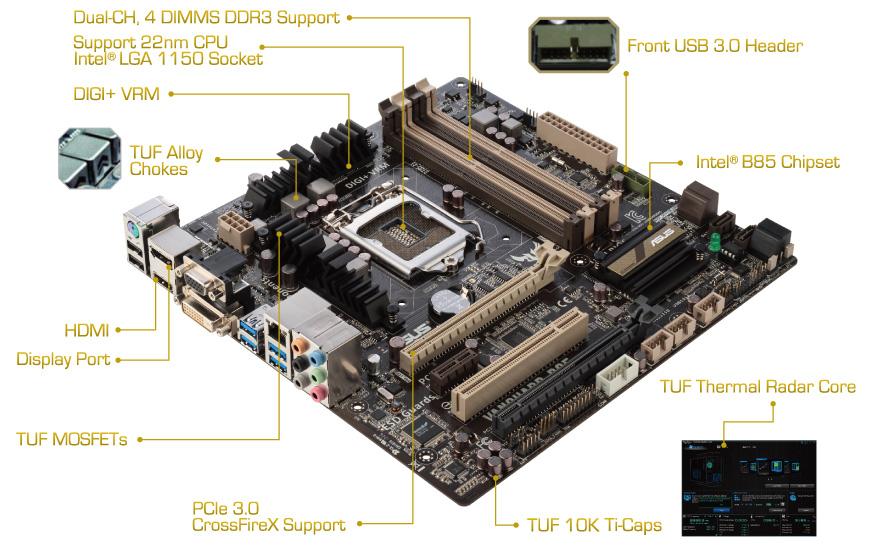 ASUS VANGUARD B85 Realtek HD Audio Windows 7