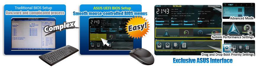 EFI 2 pic ASUS P8P67 M PRO Micro ATX P67 Motherboard Review