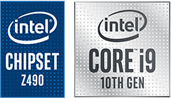 intel CHIPSET Z490 & SUPPORTS intel CORE 10TH GEN