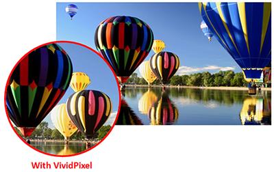 Monitor without VividPixel