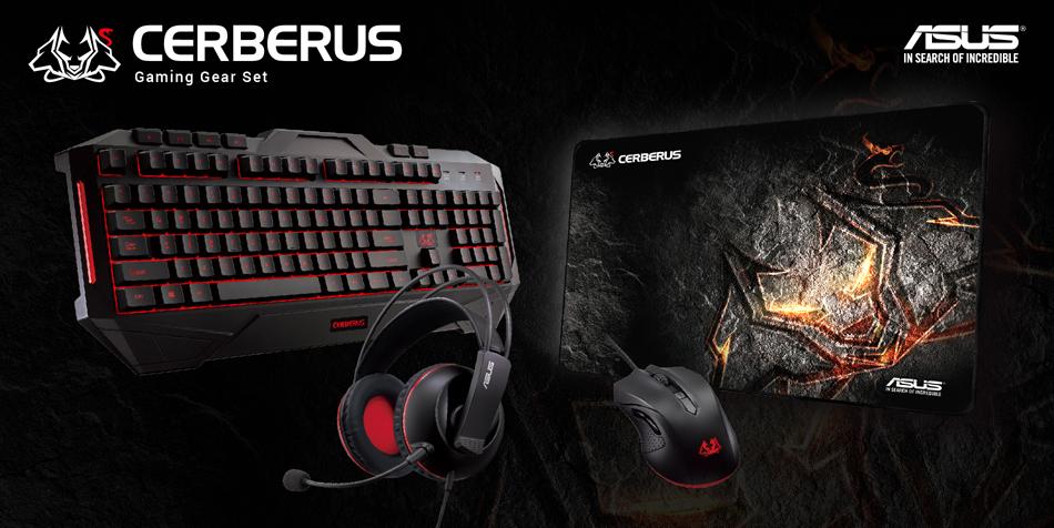asus cerberus combo gaming keyboard and mice