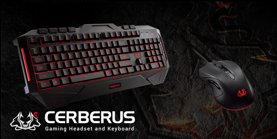 Cerberus Keyboard Keyboards Mice Asus Global