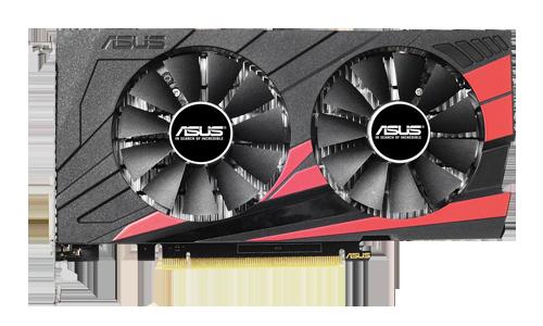 Asus Geforce GTX-1050 Expedition OC 2G