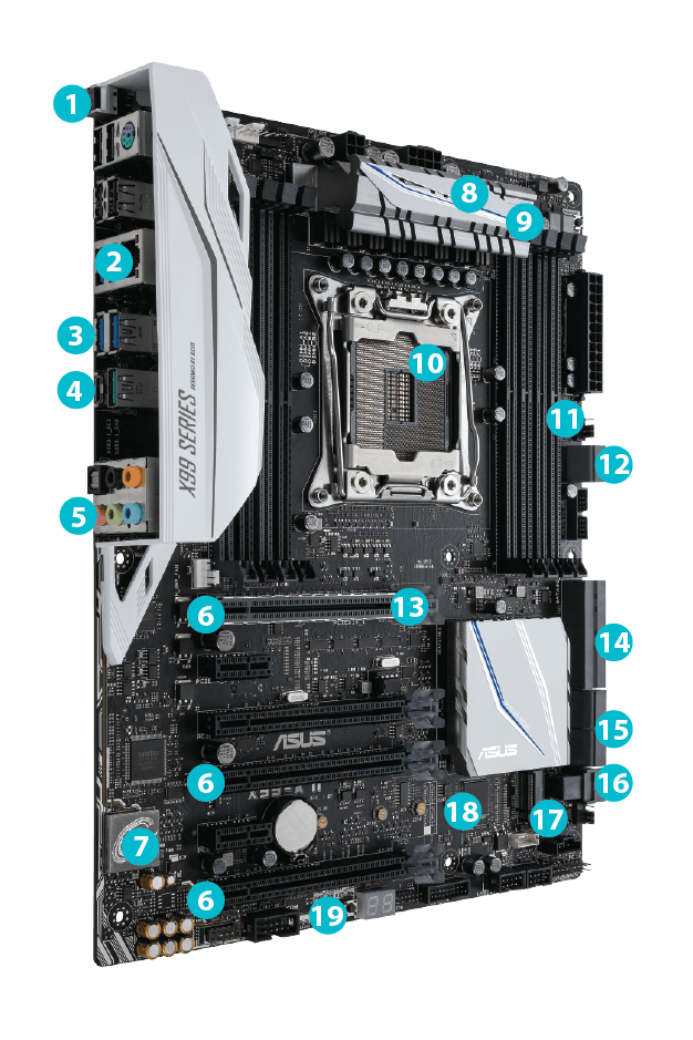 X99-A II | Motherboards | ASUS Global