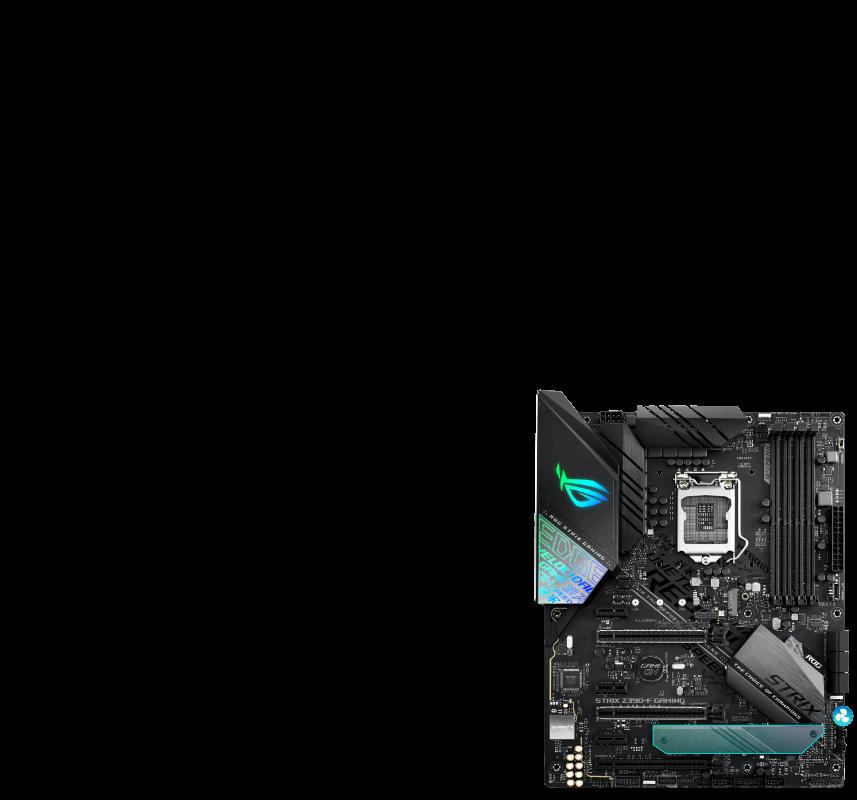 ROG STRIX Z390-F GAMING   Motherboards   ASUS Global