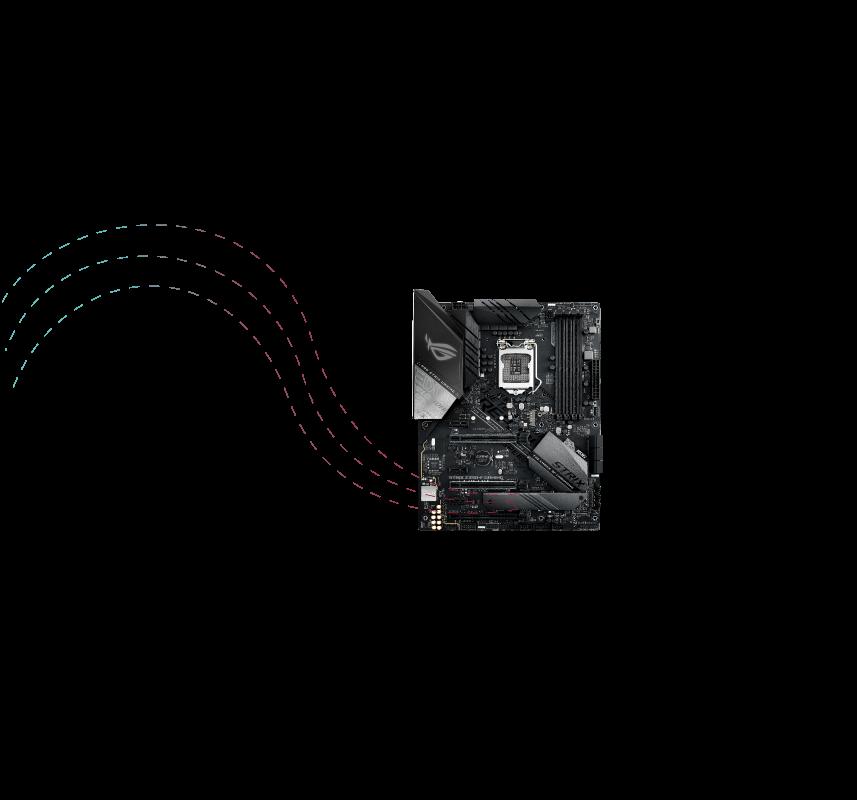 260989cccb ROG Strix Z390 Gaming シリーズは史上最も包括的なファンコントロールを備え、Fan Xpert 4またはUEFI  BIOSを介して設定可能です。