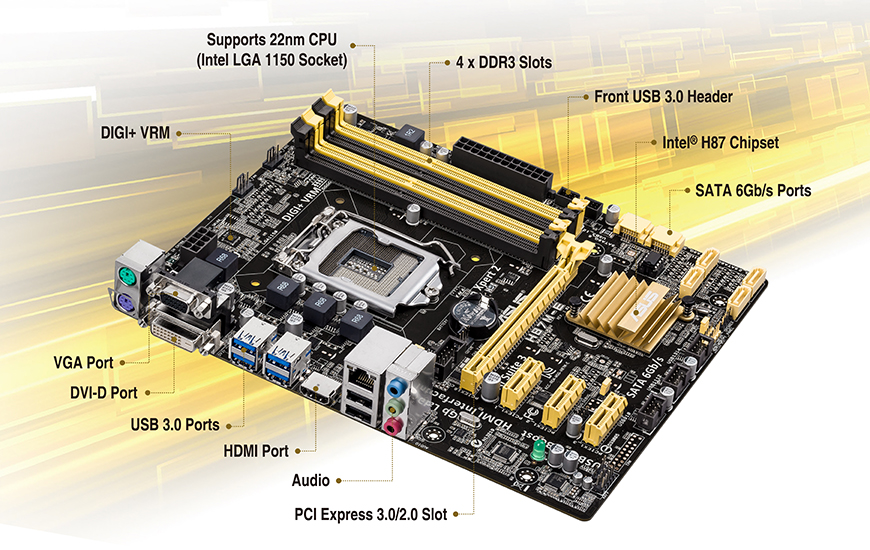 H87M-E | Motherboards | ASUS USA