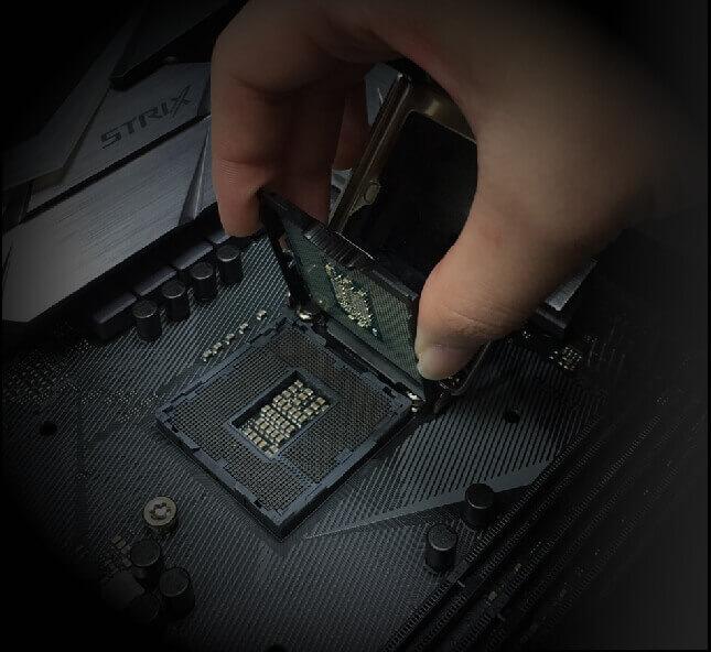 asus z370 cpu installation tool