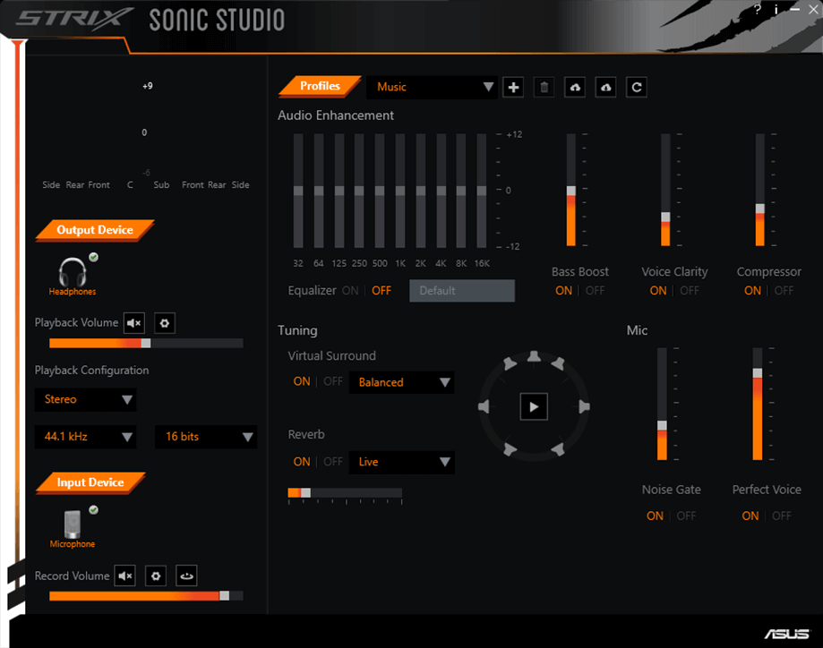 Скачать программу strix sonic studio