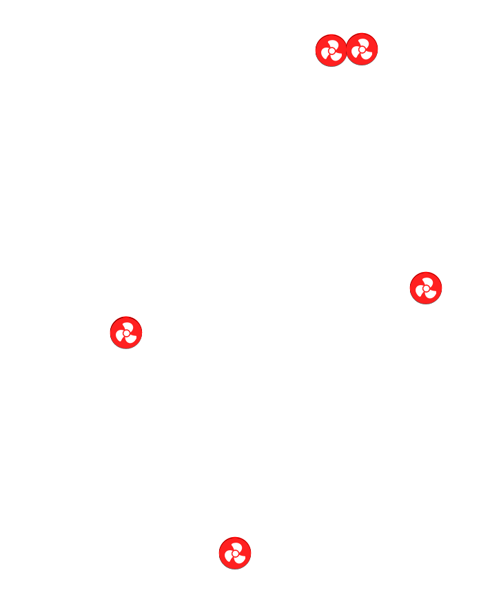 Ventilateur PWM/DC à 4 broches