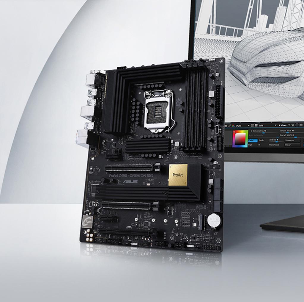 ProArt Z490-CREATOR 10G | Motherboards | ASUS Global